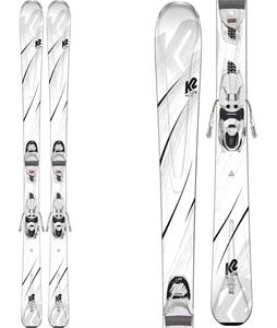 K2 First Luv Skis w/ Marker ERP 10 Quikclik Bindings