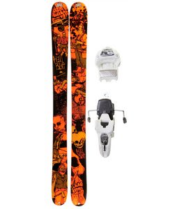 K2 Hell Bent Skis w/ Marker Griffon 12.0 Shizofrantic Bindings