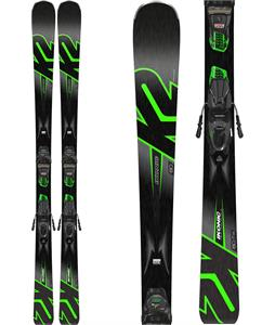 K2 iKonic 80 Skis w/ Marker M3 10 Compact Quikclik Light Bindings