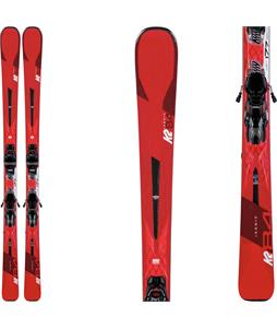 K2 Ikonic 84 Skis w/ Marker M3 12 TCX Light Quikclik Bindings