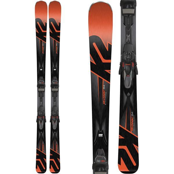 K2 Ikonic 84 Skis W/ Marker M3 12 TCX Quikclik Light Bindings