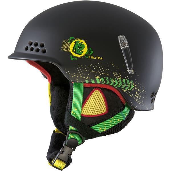 2 Illusion Ski Helmet Black U.S.A. & Canada