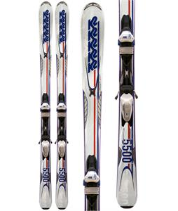 K2 A.M.P. Impact 5500 50th Anniversary Skis w/ Marker M3 11.0 Bindings