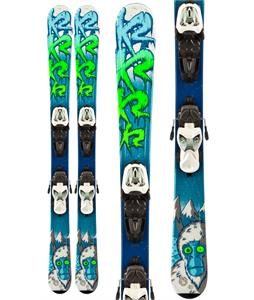 K2 Indy Skis w/ Marker Fastrak2 7.0 Bindings