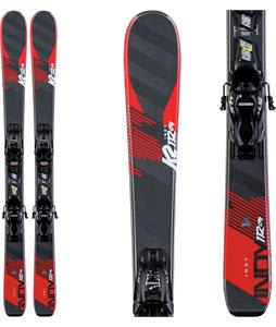 K2 Indy Skis w/ Marker FDT Jr 4.5 Bindings