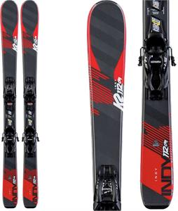 K2 Indy Skis w/ Marker FDT Jr 7.0 Bindings