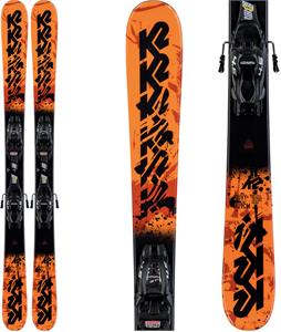 K2 Juvy Skis w/ Marker FDT Jr 7.0 Bindings