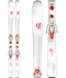 K2 Luv Struck 80 Skis w/ Marker ER3 10 TCX Light Bindings