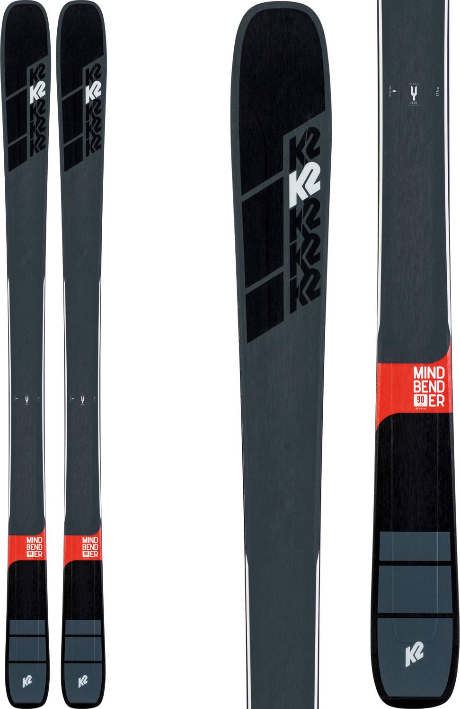 Kids Water Skis >> K2 Mindbender 90 Ti Skis 2020