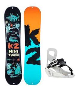 K2 Mini Turbo Snowboard w/ Mini Turbo Bindings