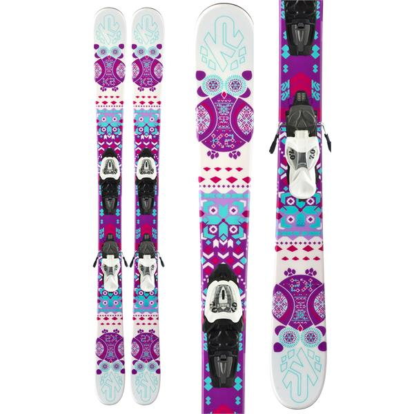 K2 Missy Skis W/ Marker Fastrak2 7 Bindings