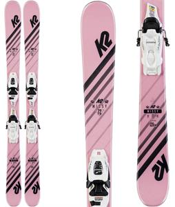 K2 Missy Skis w/ Marker FDT 7.0 Bindings