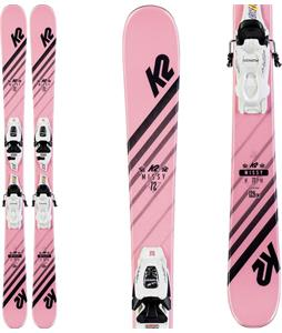 K2 Missy Skis w/ Marker FDT Jr 4.5 Bindings