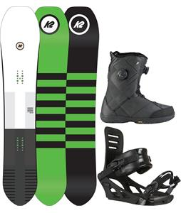 K2 Overboard Snowboard Package