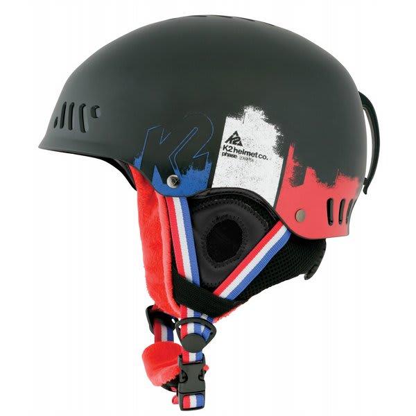 2 Phase Pro Ski Helmet Vintage Black U.S.A. & Canada