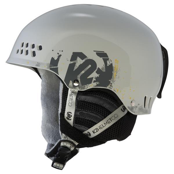 2 Phase Pro Ski Helmet Grey U.S.A. & Canada