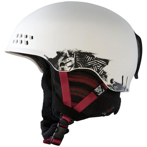 2 Phase Pro Ski Helmet White U.S.A. & Canada