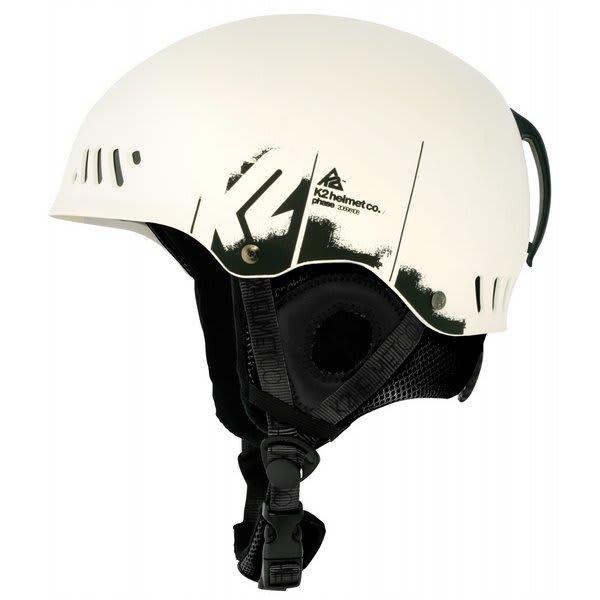 2 Phase Ski Helmet White U.S.A. & Canada