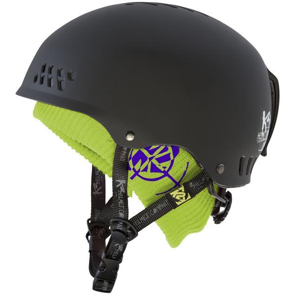 2 Phase Team Ski Helmet Black U.S.A. & Canada