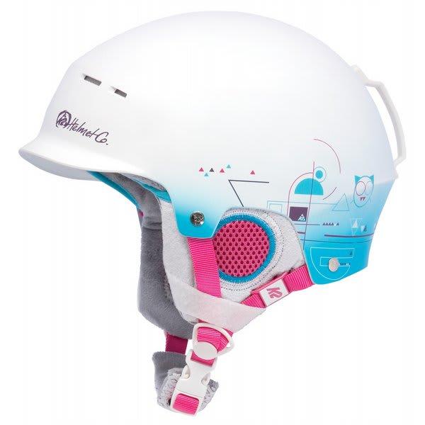 2 Rant Pro Ski Helmet White Magic U.S.A. & Canada