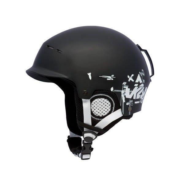 2 Rant Ski Helmet Black U.S.A. & Canada