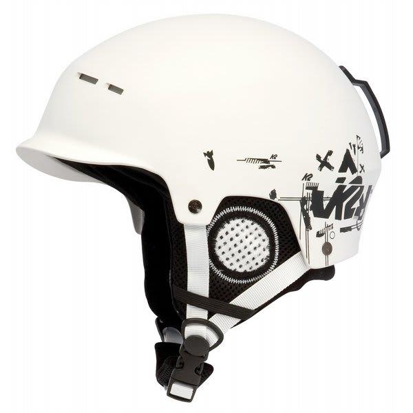 2 Rant Ski Helmet White U.S.A. & Canada