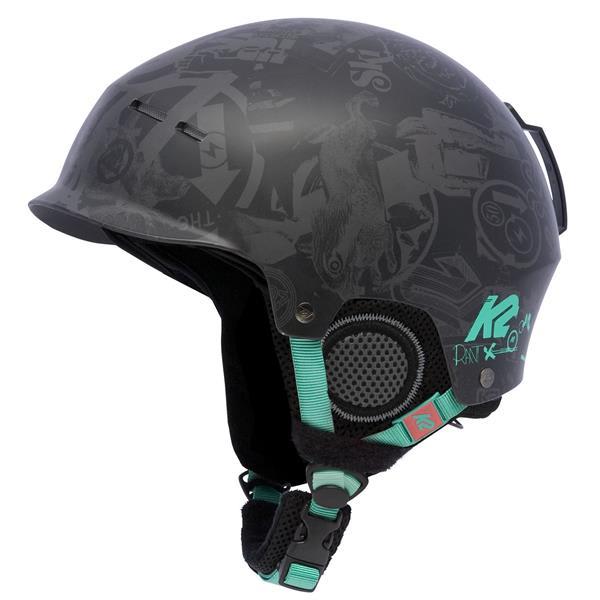 2 Rant Pro Ski Helmet Black Factory U.S.A. & Canada