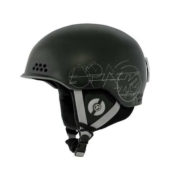 2 Rival Ski Helmet Black U.S.A. & Canada