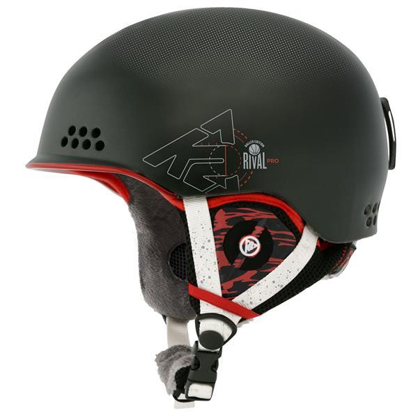 2 Rival Pro Ski Helmet Black Baller U.S.A. & Canada