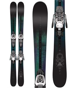 K2 Shreditor 75 Jr Skis w/ Marker Fastrak2 4.5 Binding