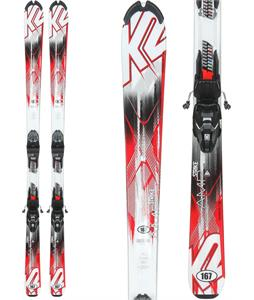 K2 Strike Skis w/ Marker M2 Quikclik Bindings
