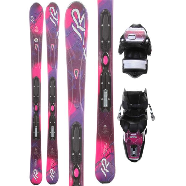 2 Superfree Skis W / Marker Er310 0 Bindings U.S.A. & Canada