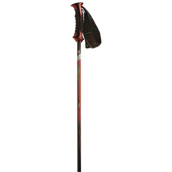2 Triax Ski Poles Red U.S.A. & Canada