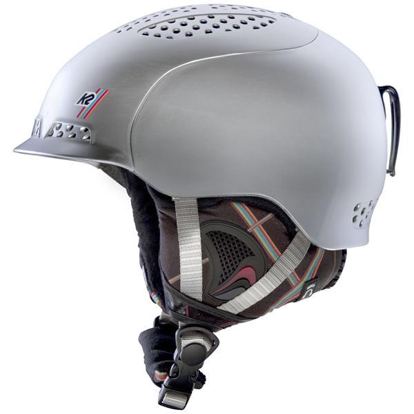 2 Virtue Ski Helmet Silver Frost U.S.A. & Canada