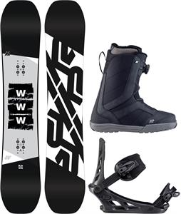 K2 WWW Snowboard Package
