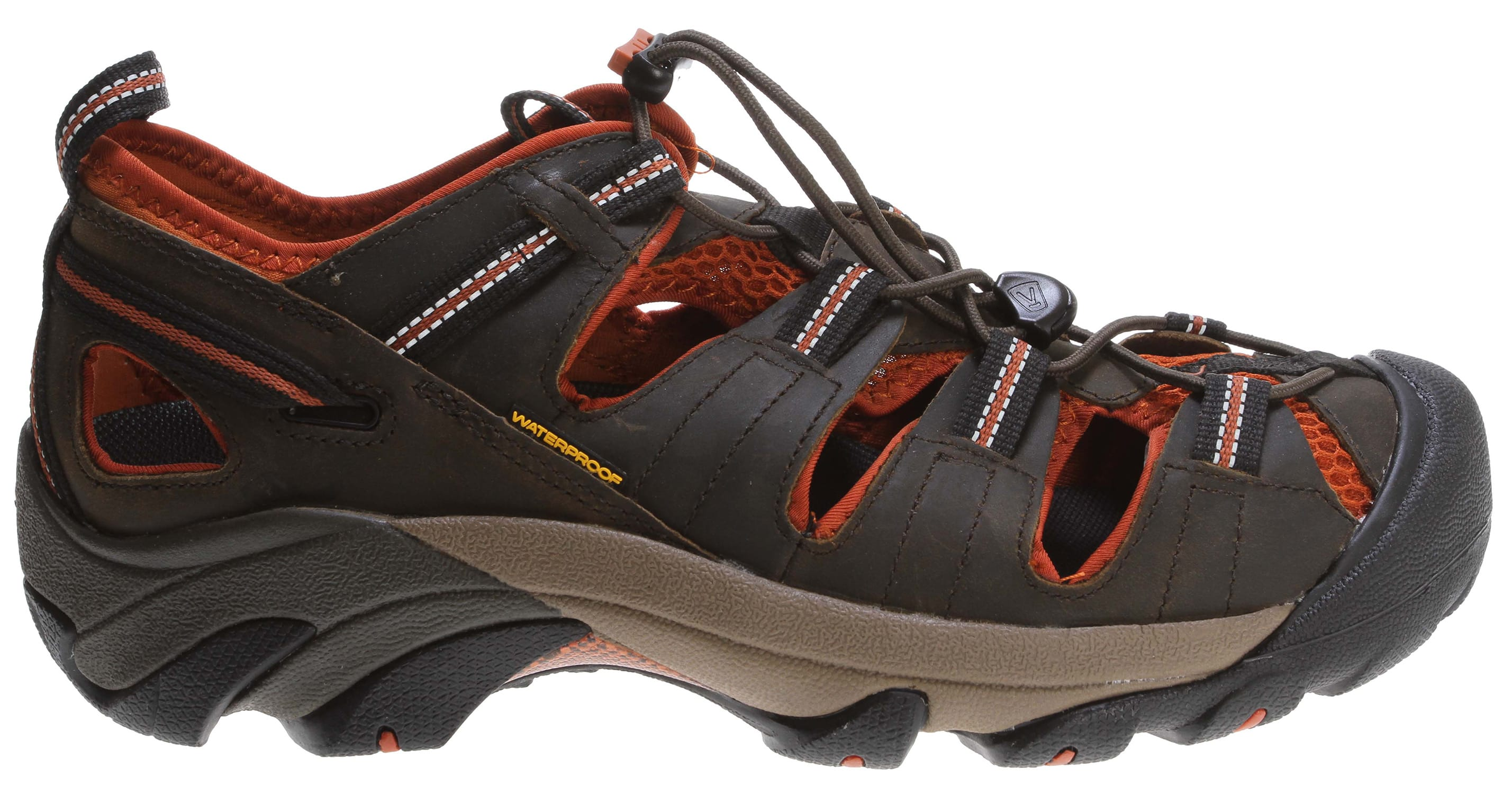 Keen ARROYO II - Walking sandals - black olive/bombay brown