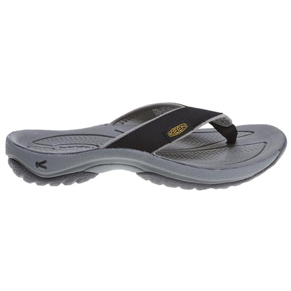 een ona Flip Sandals Black / Navy / Gray U.S.A. & Canada