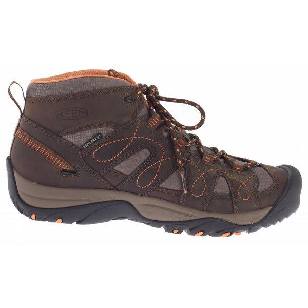 een Shasta Mid Wp Hiking Shoes Slate Black / Nectarine U.S.A. & Canada