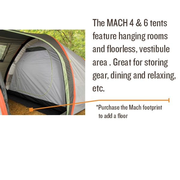 Kelty Mach 6 Tent - thumbnail 7  sc 1 st  The House & On Sale Kelty Mach 6 Tent up to 55% off
