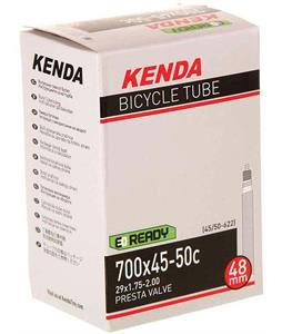 Kenda Presta 60mm Removable Valve Core Bike Tube