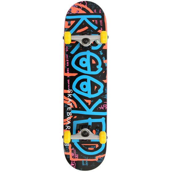 rooked Dudelz Skateboard Complete U.S.A. & Canada