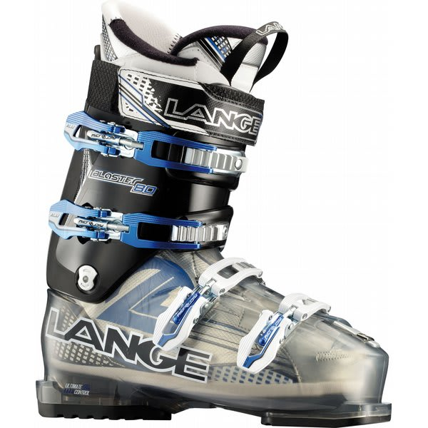 Lange Blaster 80 Ski Boots Translucent Grey / Black U.S.A. & Canada