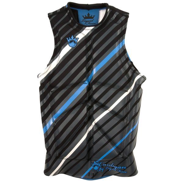 Liquid Force Cardigan Comp Wakeboard Vest Black / Blue U.S.A. & Canada