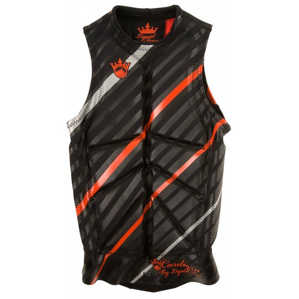 Liquid Force Cardigan Comp Wakeboard Vest Black / Red U.S.A. & Canada