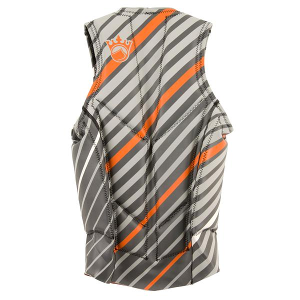 Liquid Force Cardigan Comp Wakeboard Vest Silver / Orange U.S.A. & Canada