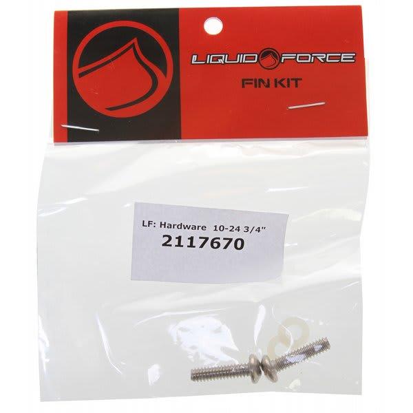 """Liquid Force Fin Screw Pack 10 24 (2 Pack) Wakeboard Fins 3 / 4"""" U.S.A. & Canada"""