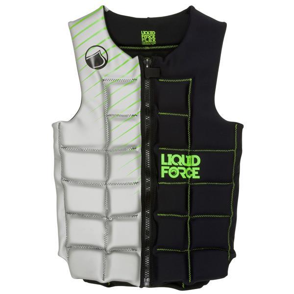 Liquid Force Flex Comp Wakeboard Vest Black / Silver U.S.A. & Canada