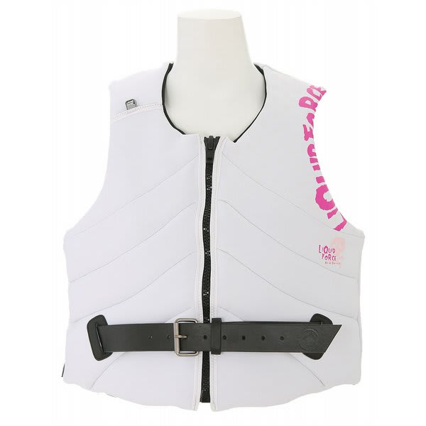 Liquid Force Heartbreaker Comp Non Cga Wake Vest White U.S.A. & Canada