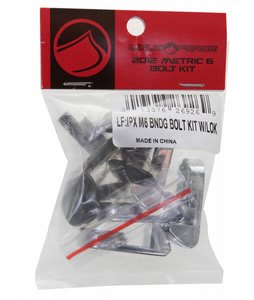 Liquid Force IPX M6 Binding Bolt Kit w/ Lock