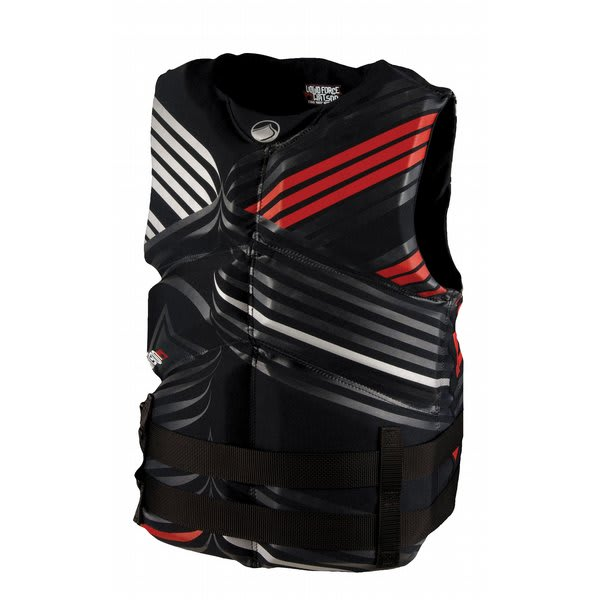 Liquid Force Watson Cga Wakeboard Vest Black / Red U.S.A. & Canada